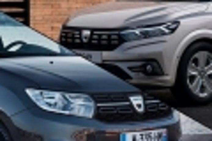 Así ha cambiado el Dacia Logan, comparativa de la nueva generación con la saliente