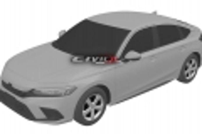 La nueva generación del Honda Civic filtrada al completo por sus bocetos de patente