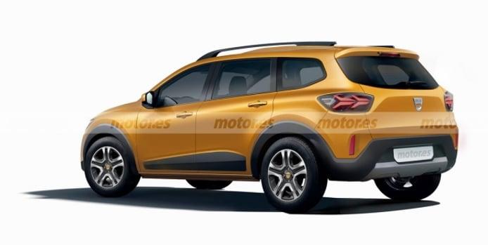 Recreación del SUV de 7 plazas de Dacia