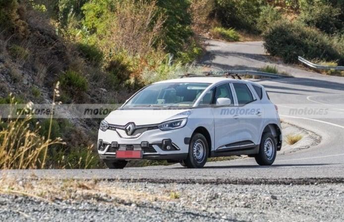 Dacia SUV 7 plazas - foto espía