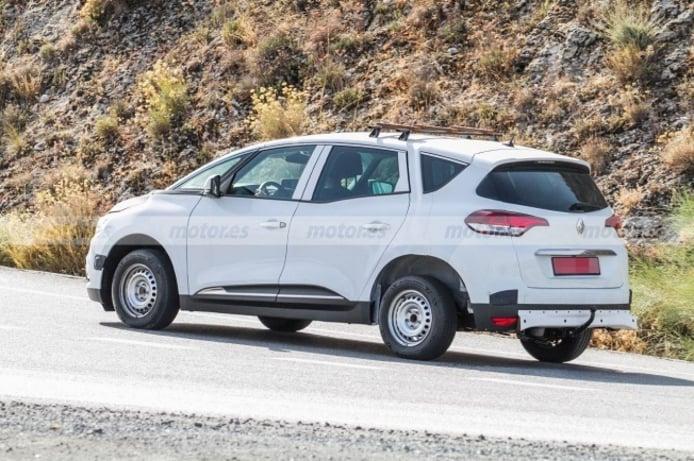 Dacia SUV 7 plazas - foto espía posterior