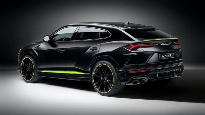 Lamborghini Urus Graphite Capsule - posterior