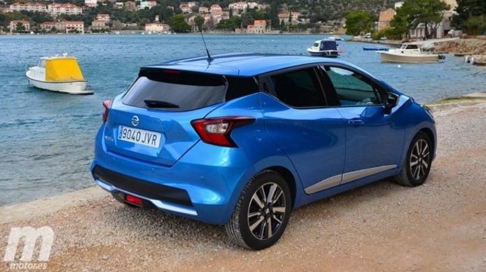 Nissan Micra - posterior
