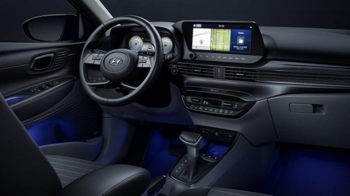 Hyundai i20 2021 - interior