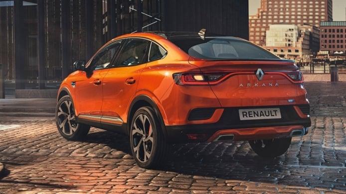 Renault Arkana - posterior