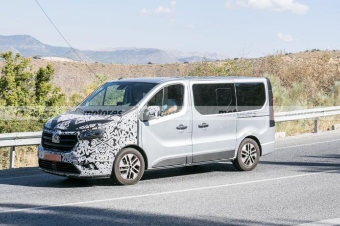 Renault Traffic 2022 - foto espía