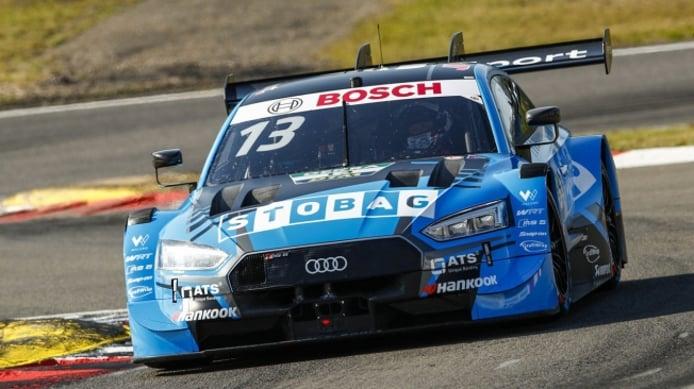 René Rast logra la primera pole del DTM en la versión corta de Nürburgring