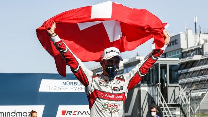 Nico Müller da otro paso hacia el título del DTM 2020 en Nürburgring