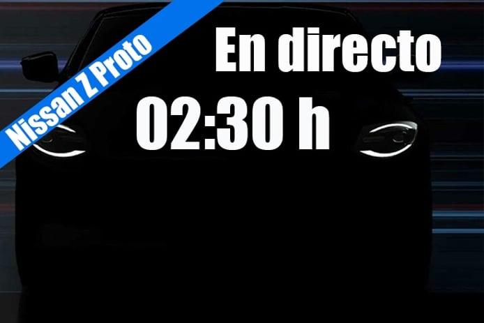 Presentación en directo del nuevo Nissan Z Proto, el anticipo del nuevo deportivo nipón
