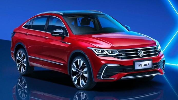 El Volkswagen Tiguan X Coupé 2021 desvelado en China