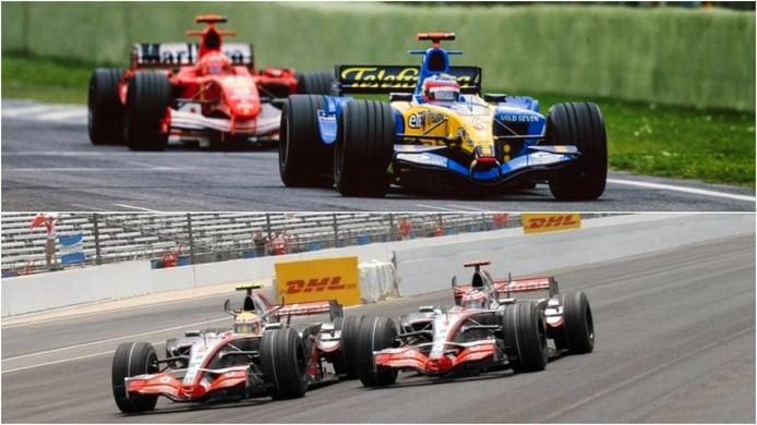 Alonso responde a la gran pregunta: ¿Schumacher o Hamilton?