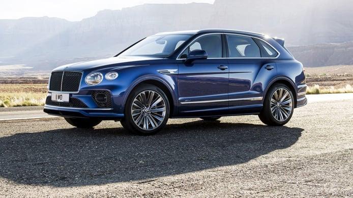Las ventas del nuevo Bentley Bentayga Speed se limitarán a mercados especiales