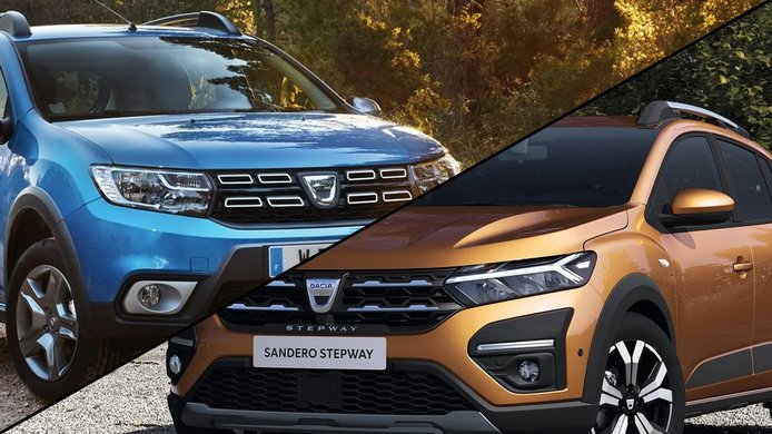 Así ha evolucionado el diseño del Dacia Sandero, analizamos su cambio de aspecto