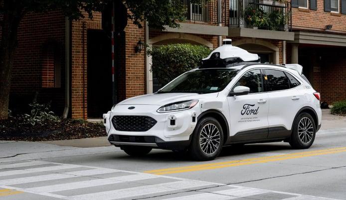Ford presenta sus nuevos prototipos de conducción autónoma completa