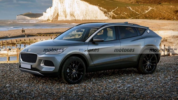 Adelanto del futuro Lotus Lambda, el SUV deportivo, y eléctrico, que llegará en 2022