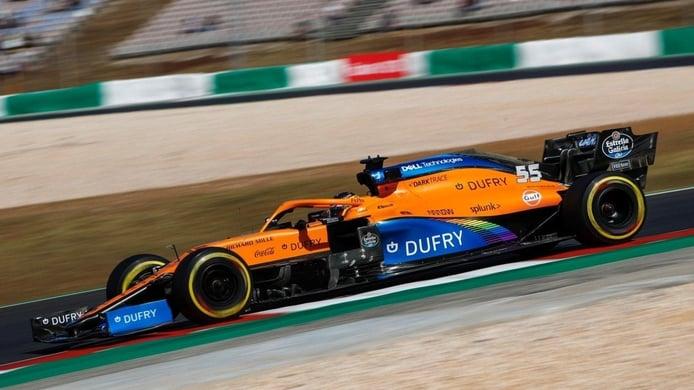 McLaren reorganiza su plan para Portimao tras los problemas de Nürburgring