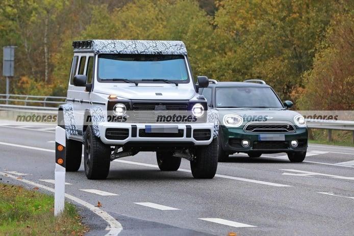 Mercedes-AMG apura las pruebas del nuevo G 4x4² 2021 en los alrededores de Nürburgring