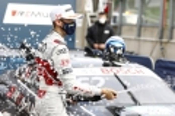 Segundo doblete de René Rast en Zolder, con podio de Robert Kubica
