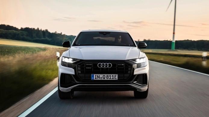 Audi Q8 TFSI e quattro - frontal