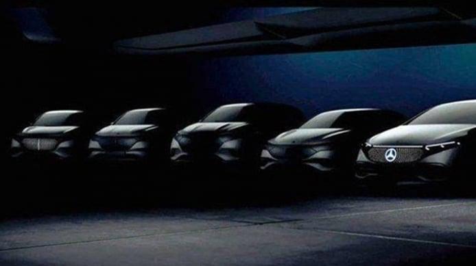Nuevos coches eléctricos de Mercedes