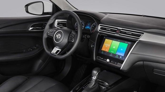 MG5 - interior