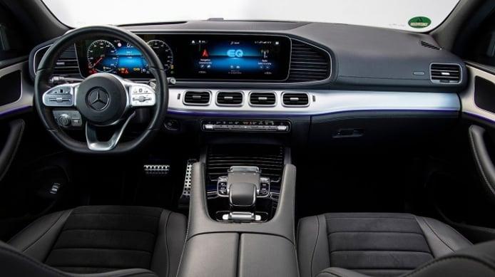 Mercedes GLE 350 e 4MATIC - interior