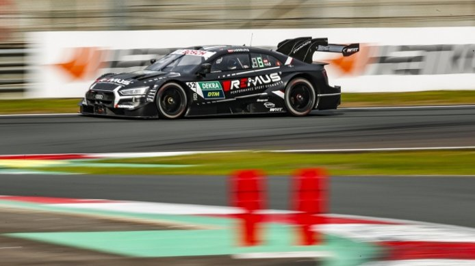 René Rast sigue imparable en Zolder y logra una nueva pole del DTM