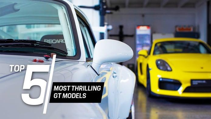Porsche nos muestra sus versiones GT más excitantes en su último vídeo