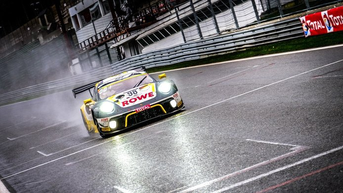 Vanthoor, Tandy y Bamber ganan las 24 Horas de Spa con el Porsche #98