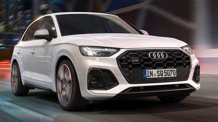 Audi SQ5 TDI 2021, deportividad de la mano de un motor diésel electrificado
