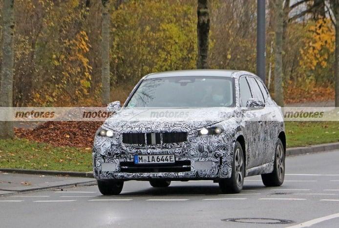 Primeras fotos espía del prototipo de producción del BMW iX1 2022