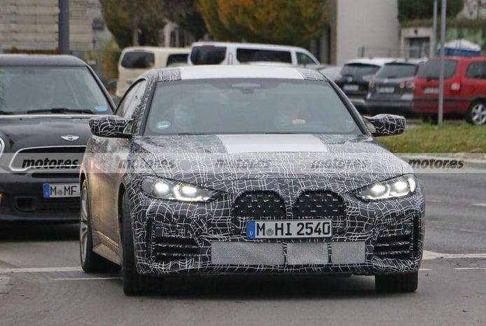 Nuevas fotos espía del BMW M440i Gran Coupé 2022, la versión de M Performance