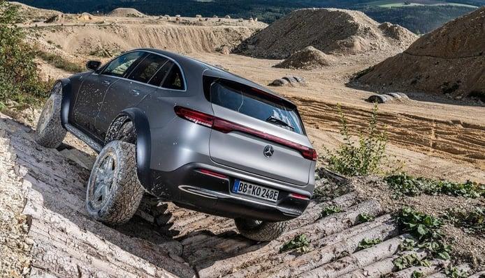 El Mercedes EQC 4x4² anticipa las cualidades del futuro EQG eléctrico previsto para 2023