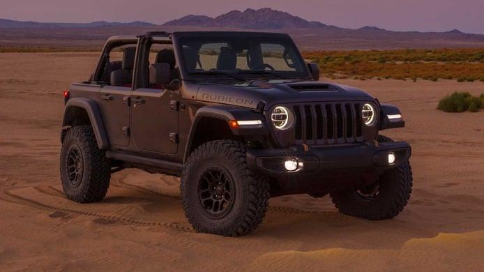El nuevo Jeep Wrangler V8 presentado oficialmente con más potencia de la esperada