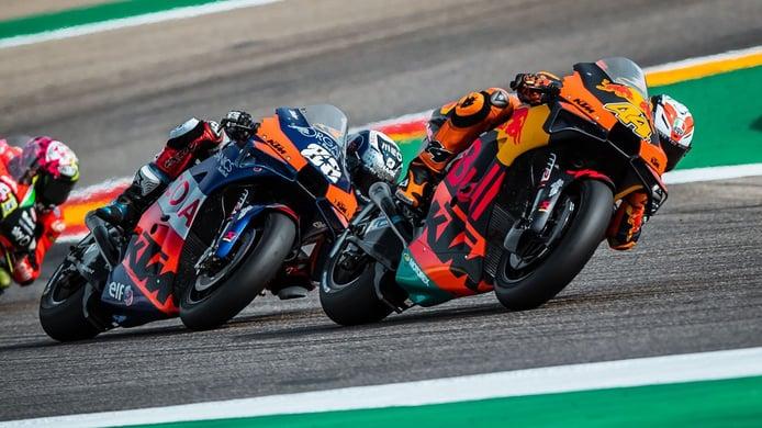 KTM reconoce que desarrollar su MotoGP será más difícil sin Pol Espargaró