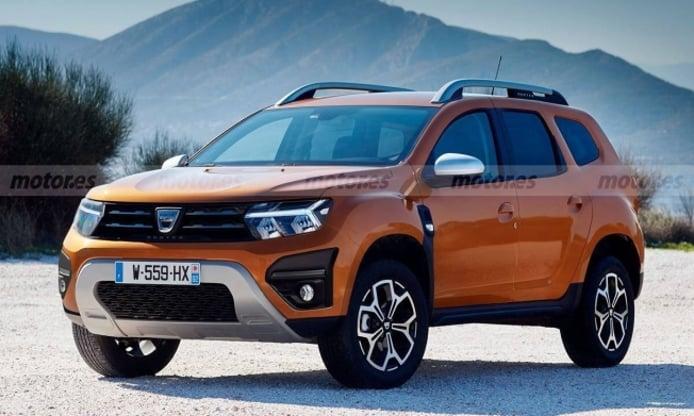 Dacia Duster 2021 - recreación