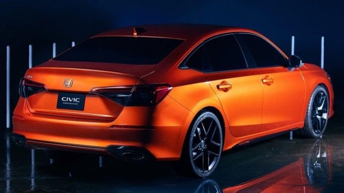 Honda Civic Prototype 2021 - posterior