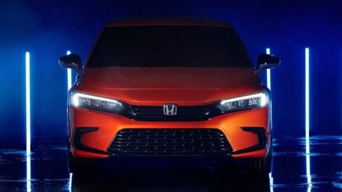 Honda Civic Prototype 2021 - frontal