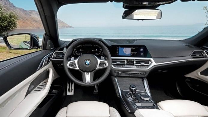 BMW Serie 4 Cabrio 2021 - interior