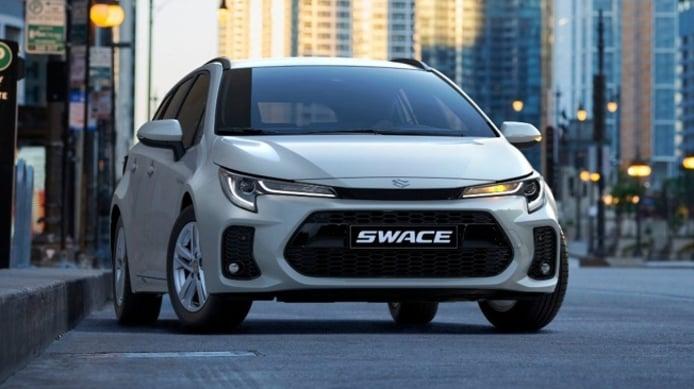 Suzuki Swace - frontal