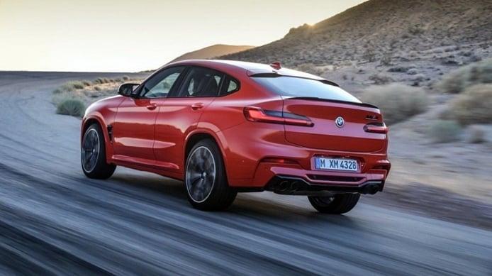 BMW X4 LCI y X4 M LCI nuovi suv 2021 dealer on fire