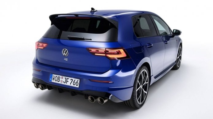 Volkswagen Golf R 2021 - posterior