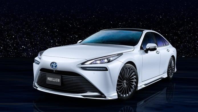 Modellista anticipa su kit deportivo para el nuevo Toyota Mirai 2021