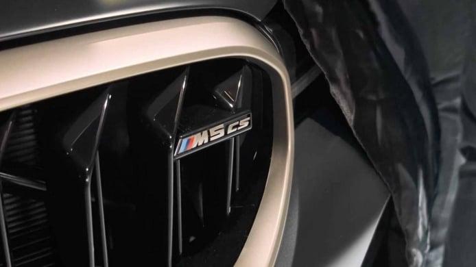 Primer teaser del BMW M5 CS, la berlina más rápida de Múnich debuta en 2021