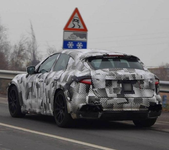 Las mulas del Ferrari Purosangue con carrocería Maserati por primera vez en vídeo