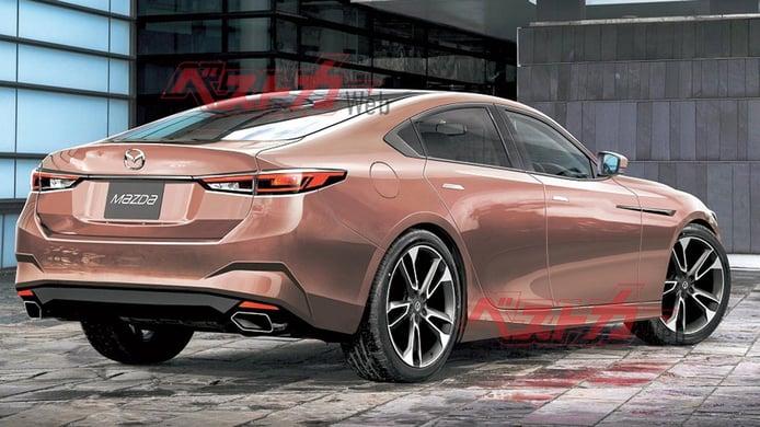 Mazda6 2022, ¿será Toyota crucial en el desarrollo de la nueva generación?