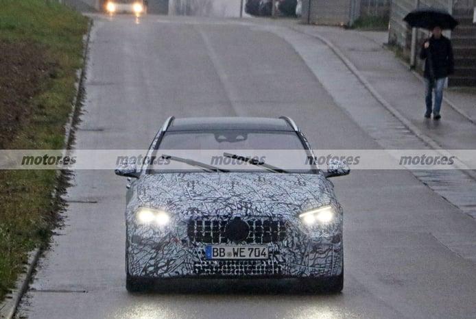 Primeras fotos espía del nuevo Mercedes-AMG C 43 Estate 4MATIC 2021