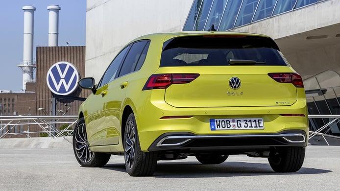 Volkswagen Golf eHybrid - posterior