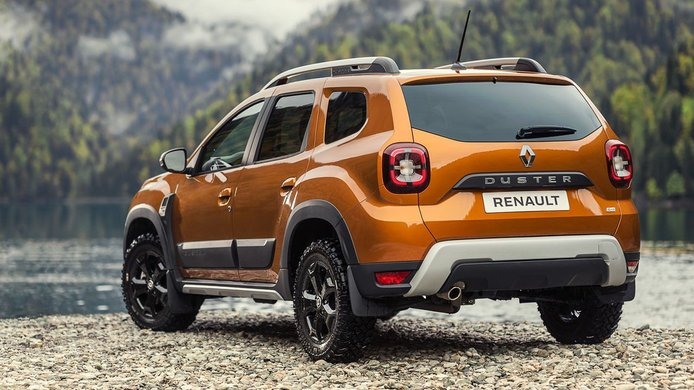 Renault Duster 2021 - posterior