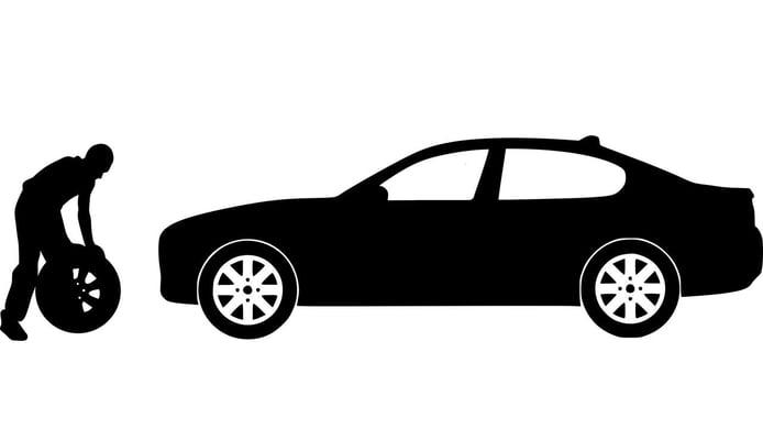 Reparar un pinchazo en el coche: cuándo y cómo debe hacerse